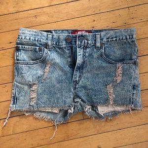 Levi denim jean shorts
